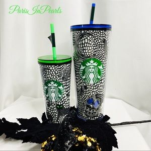 Starbucks Halloween Glow In The Dark Tumbler Set